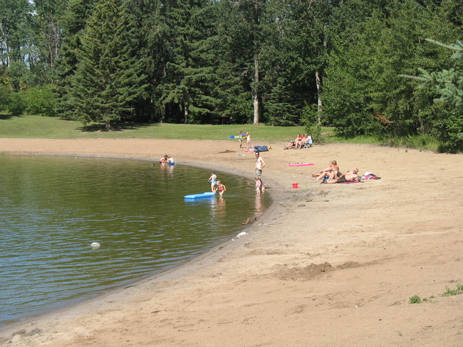 Camp Lake Beach