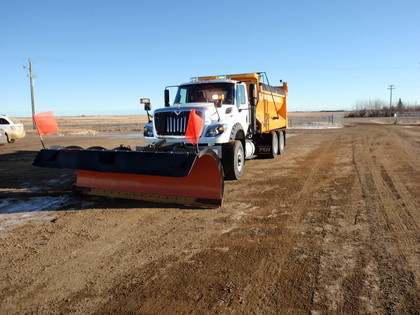Beaver County's Plow Truck, Purchased 2011