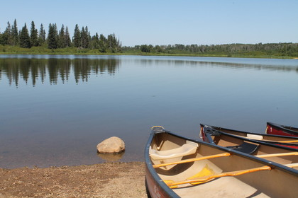 Islet Lake in the Cooking Lake-Blackfoot Provincial Recreation Area