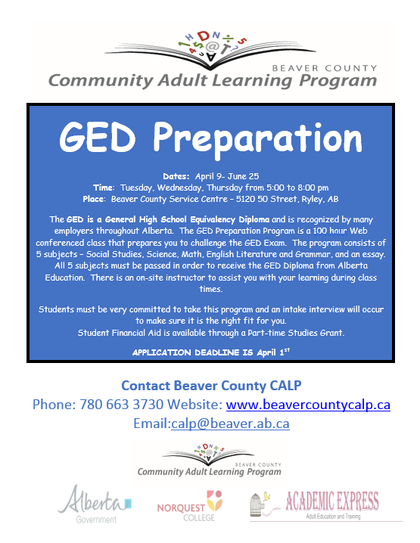 Community Adult Learning Program: County News - Beaver County